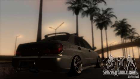 Subaru Impreza WRX STi for GTA San Andreas right view