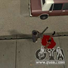 Real Ragdoll Mod Update 02.11.11 for GTA San Andreas forth screenshot