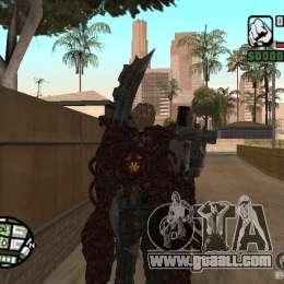 Wesker ouroboros for gta san andreas third screenshot
