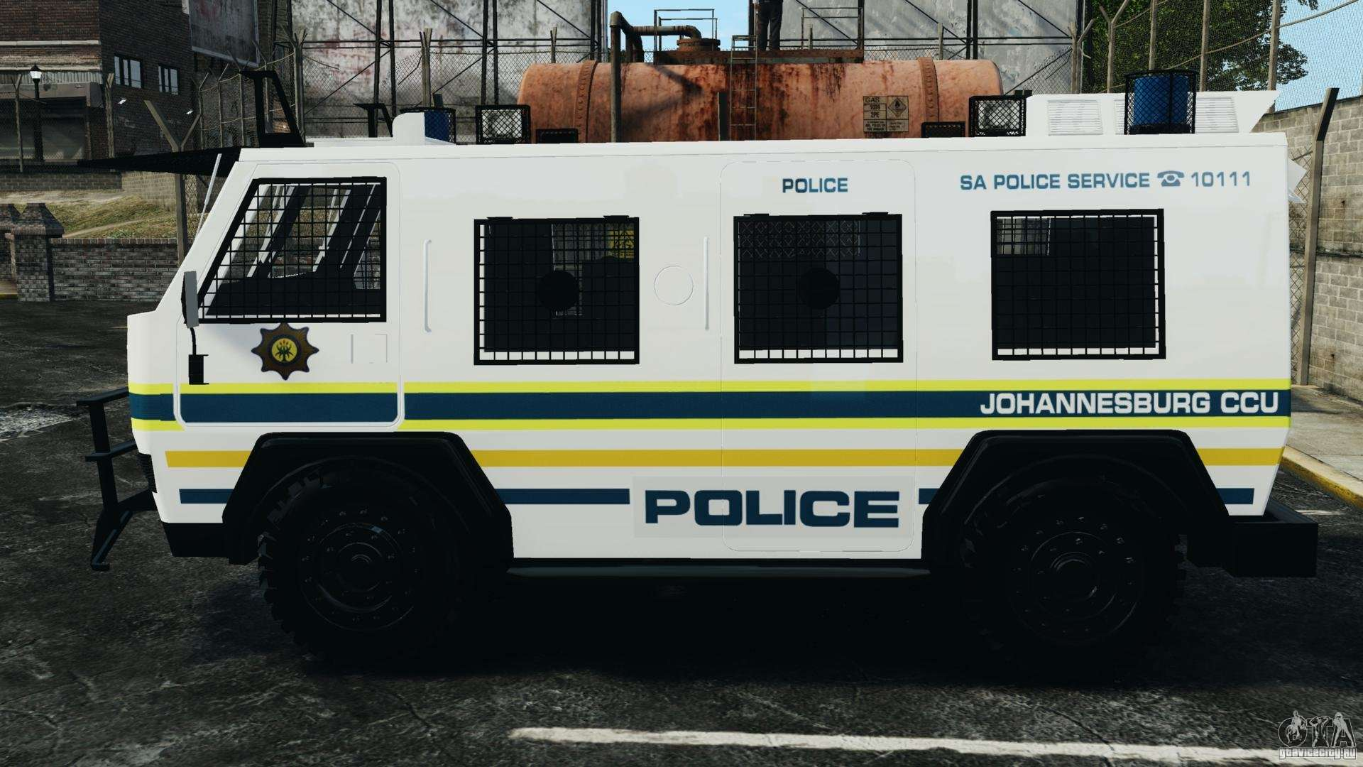 Rg 12 Nyala South African Police Service For Gta 4