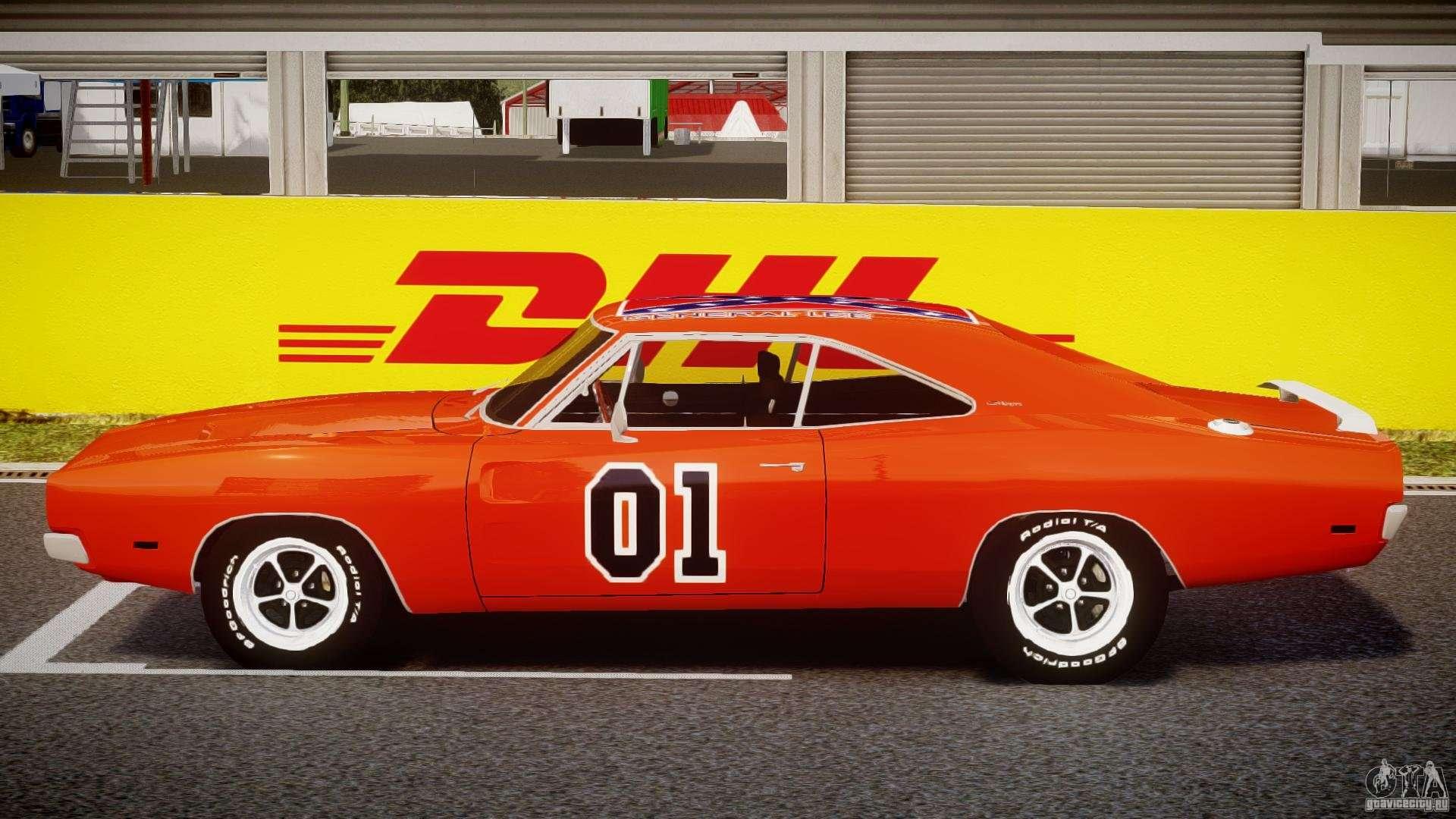 Dodge Charger General Lee 1969 For Gta 4