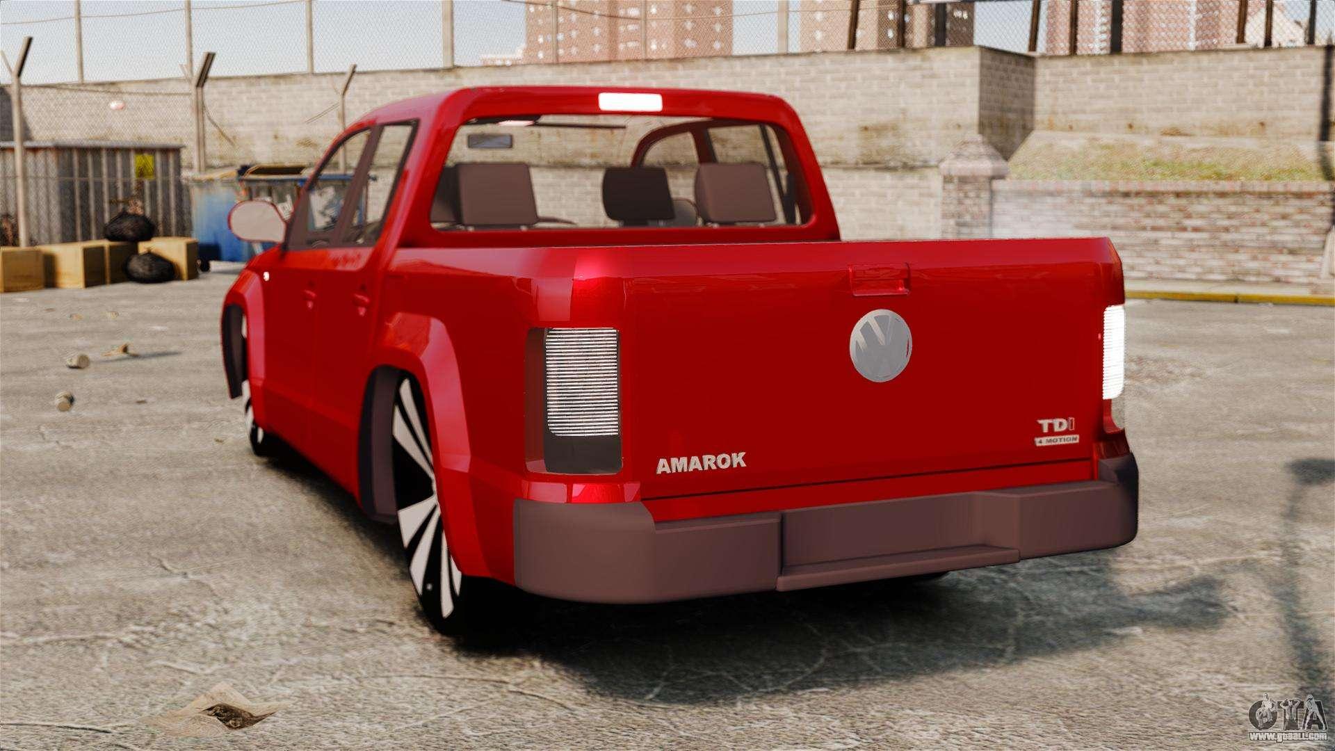 Volkswagen Amarok 2 0 Tdi Awd Trendline 2012 For Gta 4