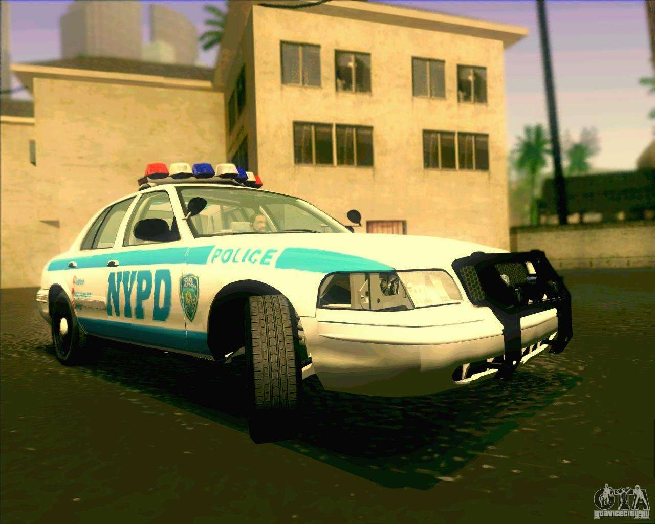 Ford Crown Victoria 2003 Nypd Police V2 0 For Gta San Andreas