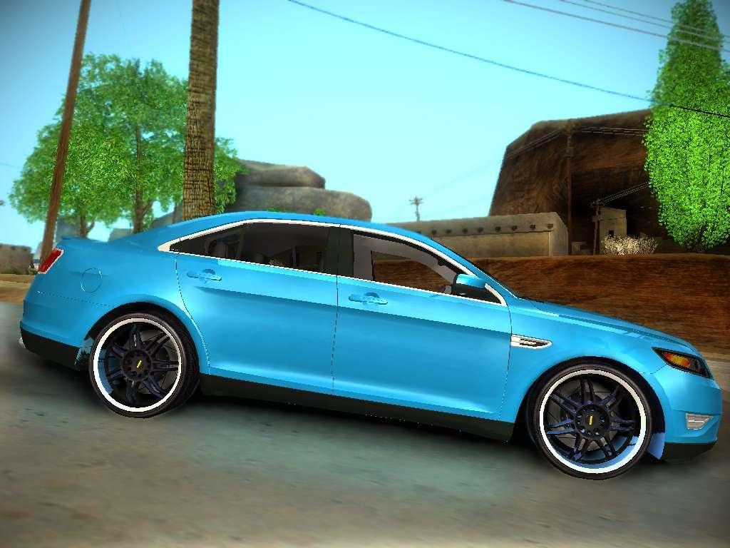 2016 Ford Taurus Sho >> Ford Taurus SHO 2011 for GTA San Andreas