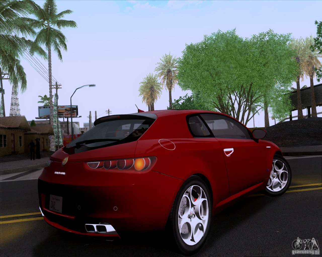 alfa romeo brera for gta san andreas. Black Bedroom Furniture Sets. Home Design Ideas