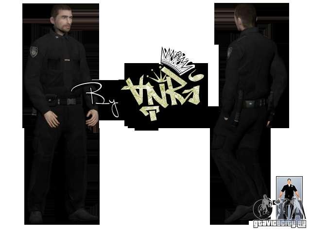 how to change cop skins gta v