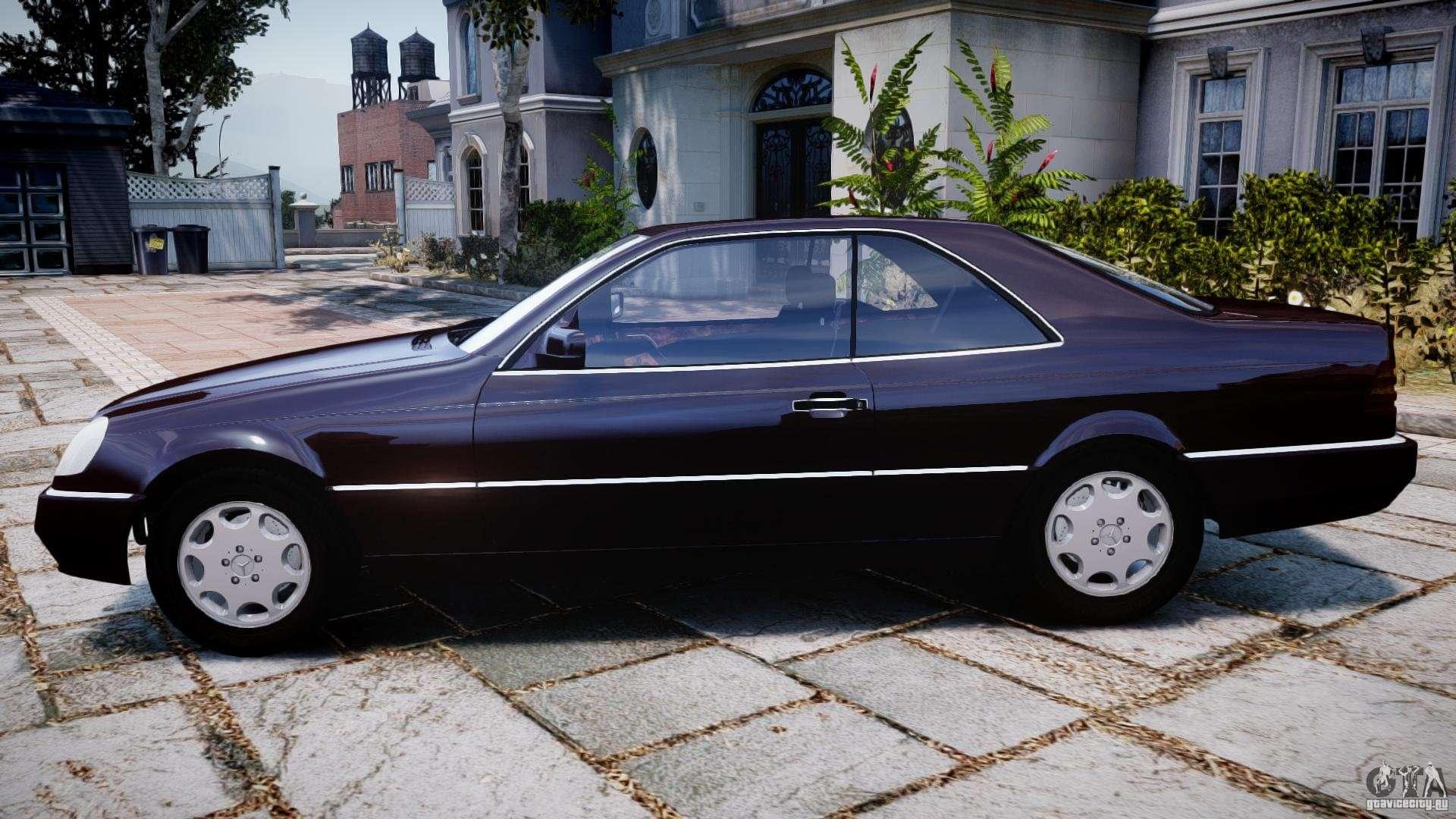 Mercedes benz 600sec c140 1992 v1 0 for gta 4 for Mercedes benz 1992