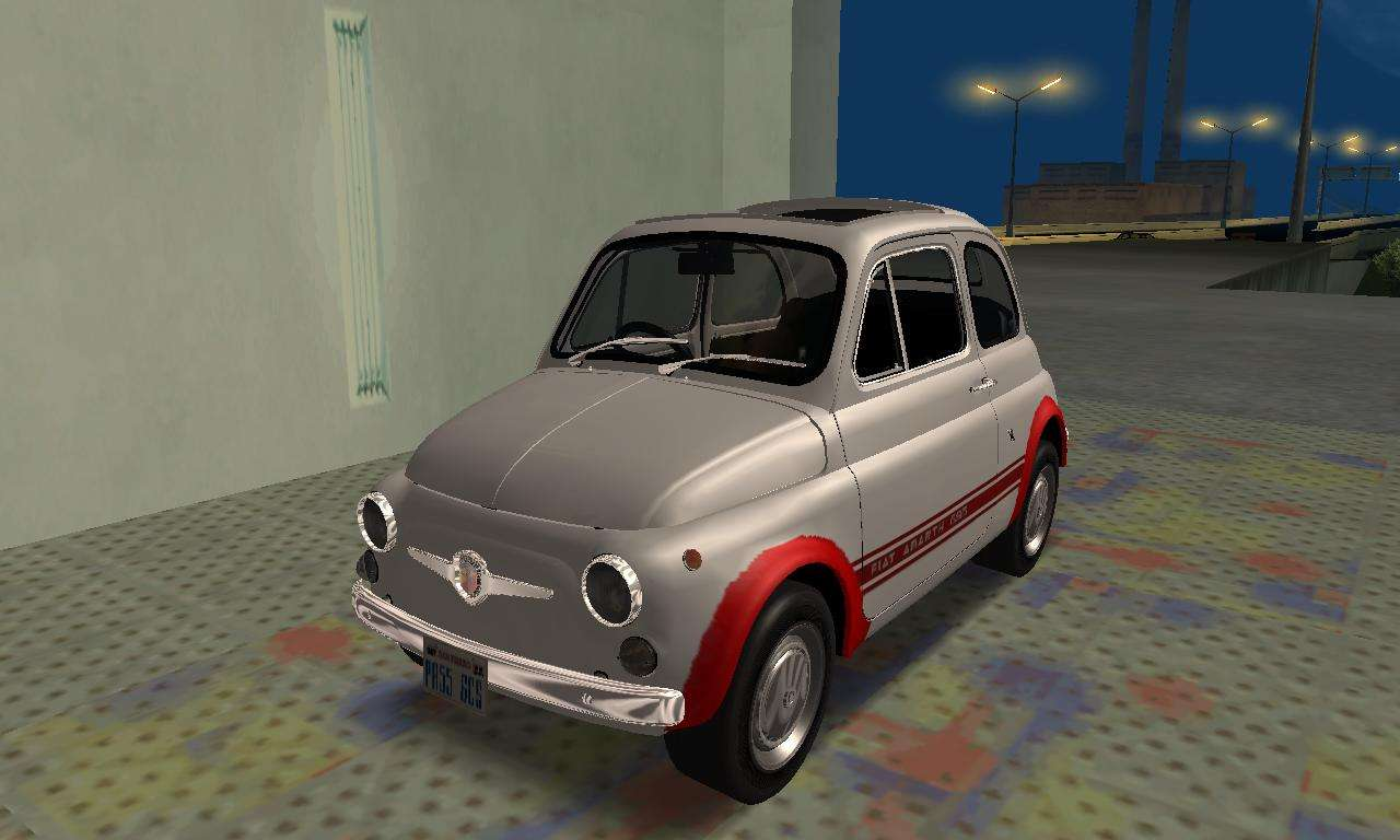 fiat abarth 595 ss 1968 for gta san andreas. Black Bedroom Furniture Sets. Home Design Ideas