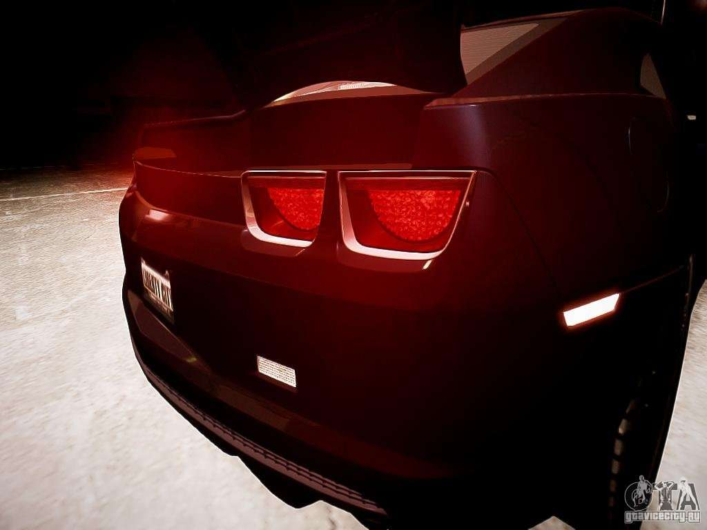 Chevrolet Camaro Ss 2010 For Gta 4