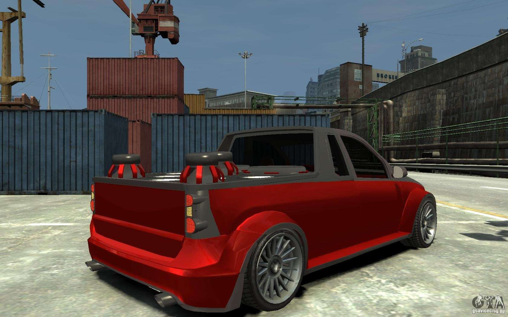 dacia pick up tuning for gta 4. Black Bedroom Furniture Sets. Home Design Ideas