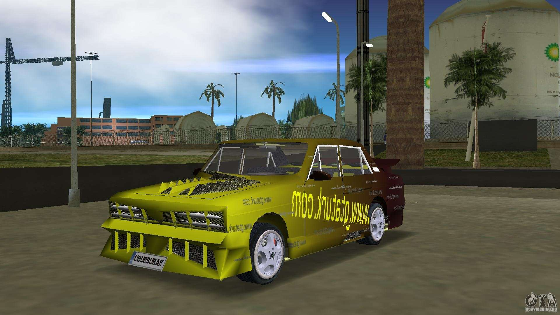 Anadol Gtaturk Drift Car For Gta Vice City