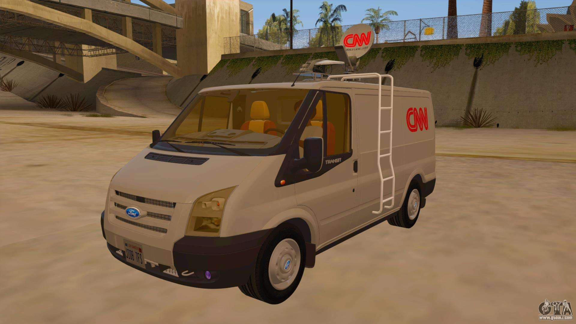 Ford Passenger Van >> Ford Transit CNN for GTA San Andreas