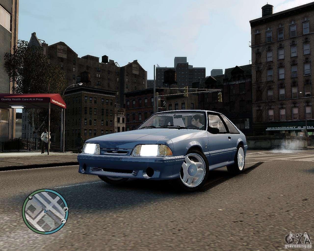 Ford Mustang SVT Cobra R 1993 For GTA 4