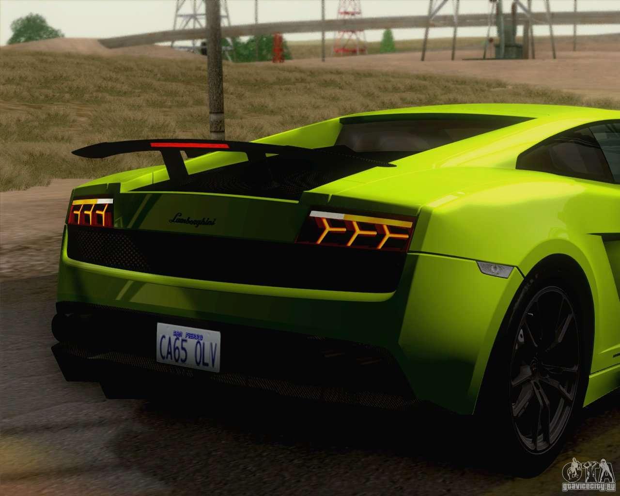 Lamborghini Gallardo Lp570 4 Superleggera 2011 For Gta San
