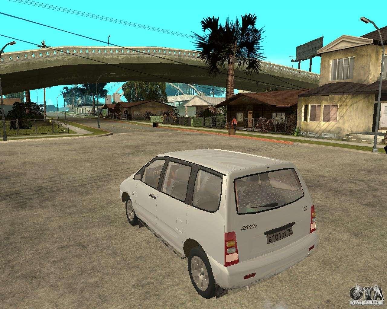 VAZ 2120 - the car is not for drift 50