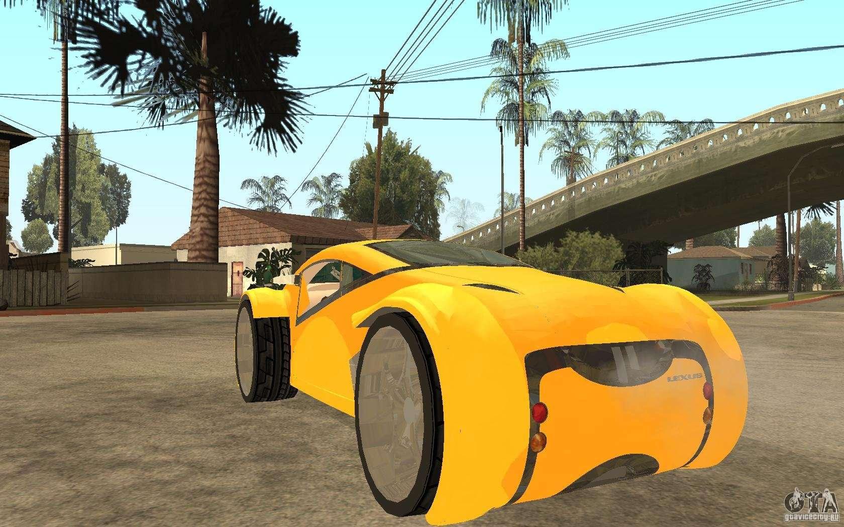 lexus concept 2045 for gta san andreas