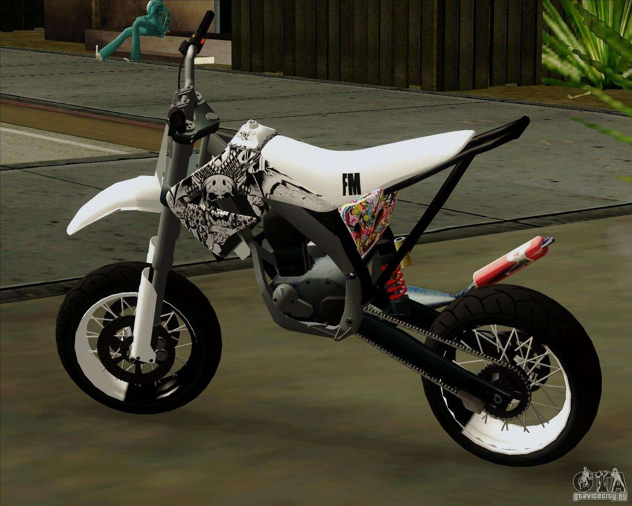Honda 50 Tuned Stunt For Gta San Andreas