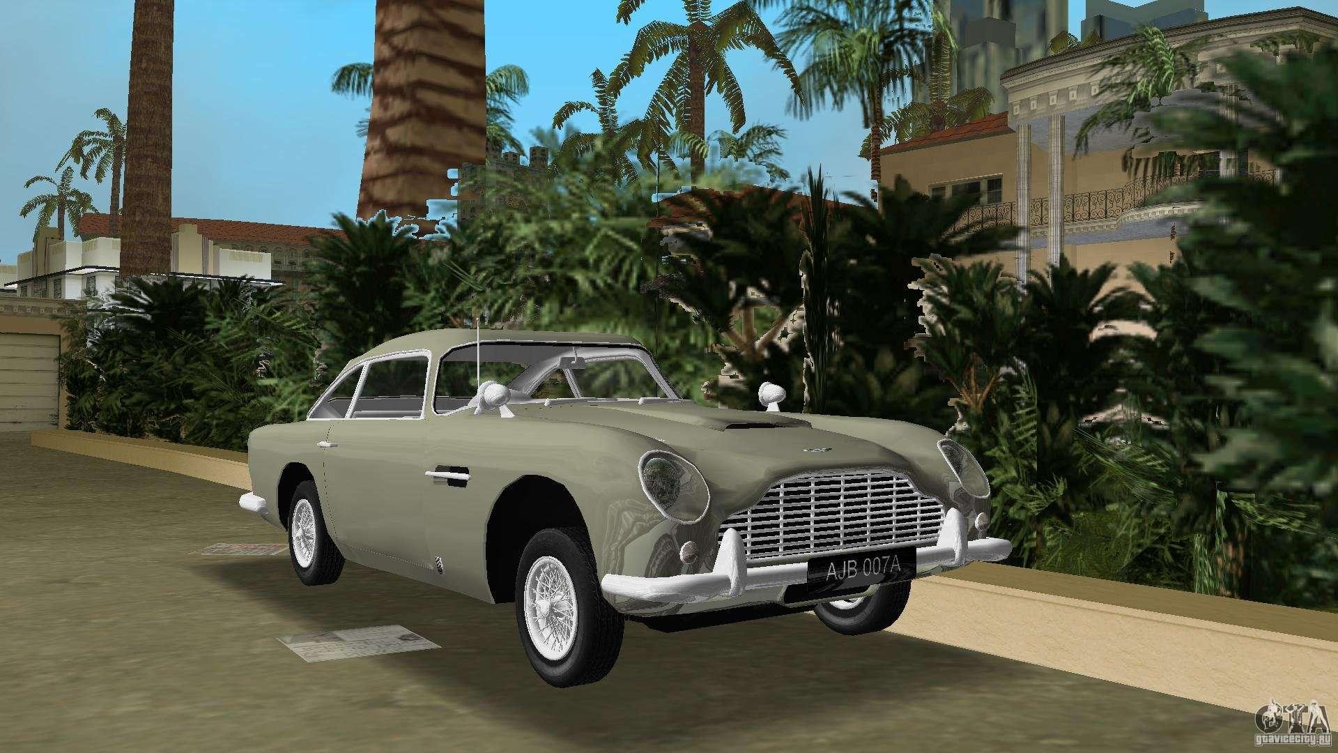 Aston Martin Db5 63 54 James Bond For Gta Vice City