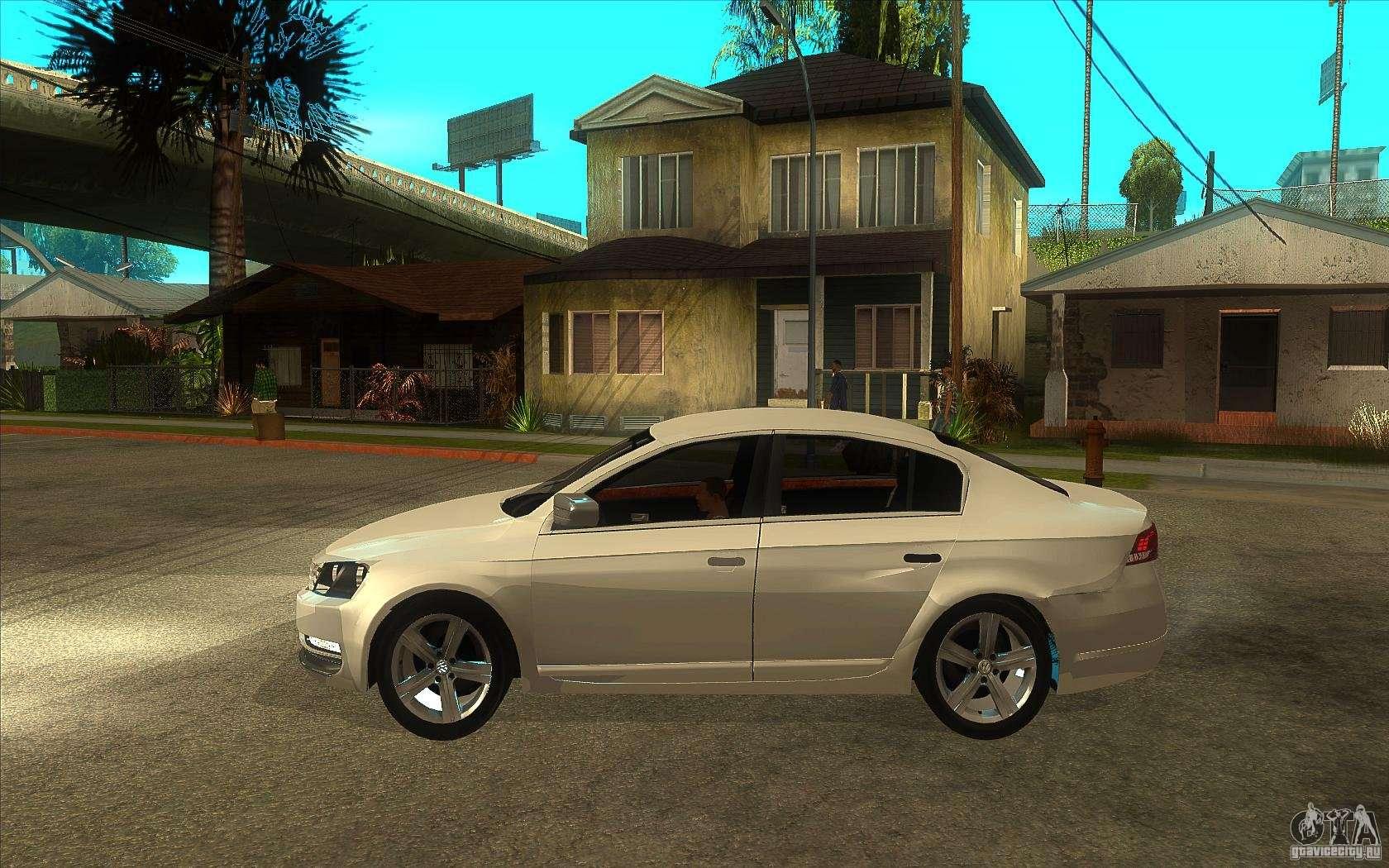 Volkswagen Passat 2 0 Tdi Bluemotion 2011 For Gta San Andreas