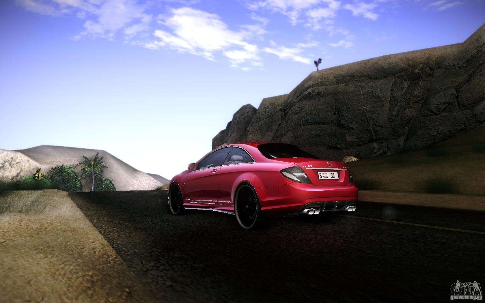 Mercedes benz cl65 amg for gta san andreas for Mercedes benz cl65