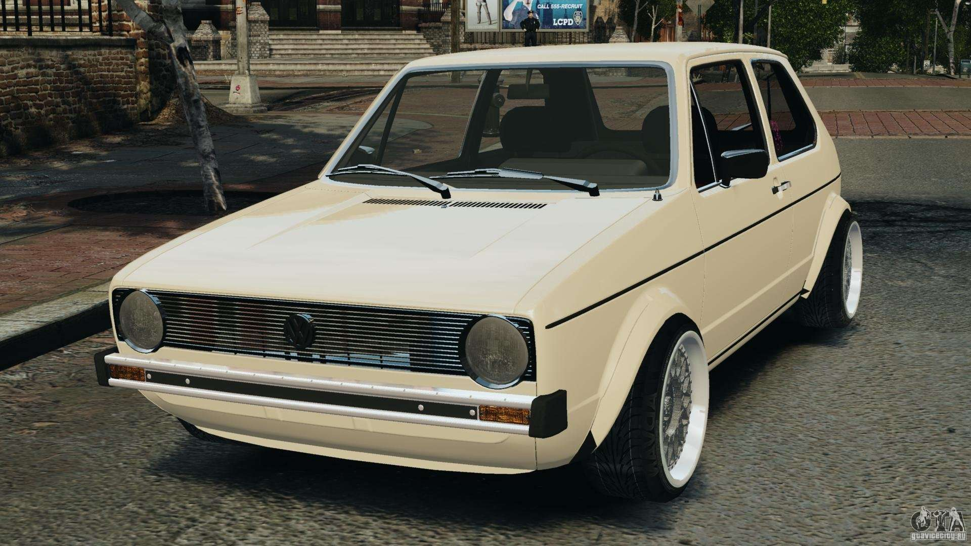 volkswagen golf mk1 stance for gta 4. Black Bedroom Furniture Sets. Home Design Ideas
