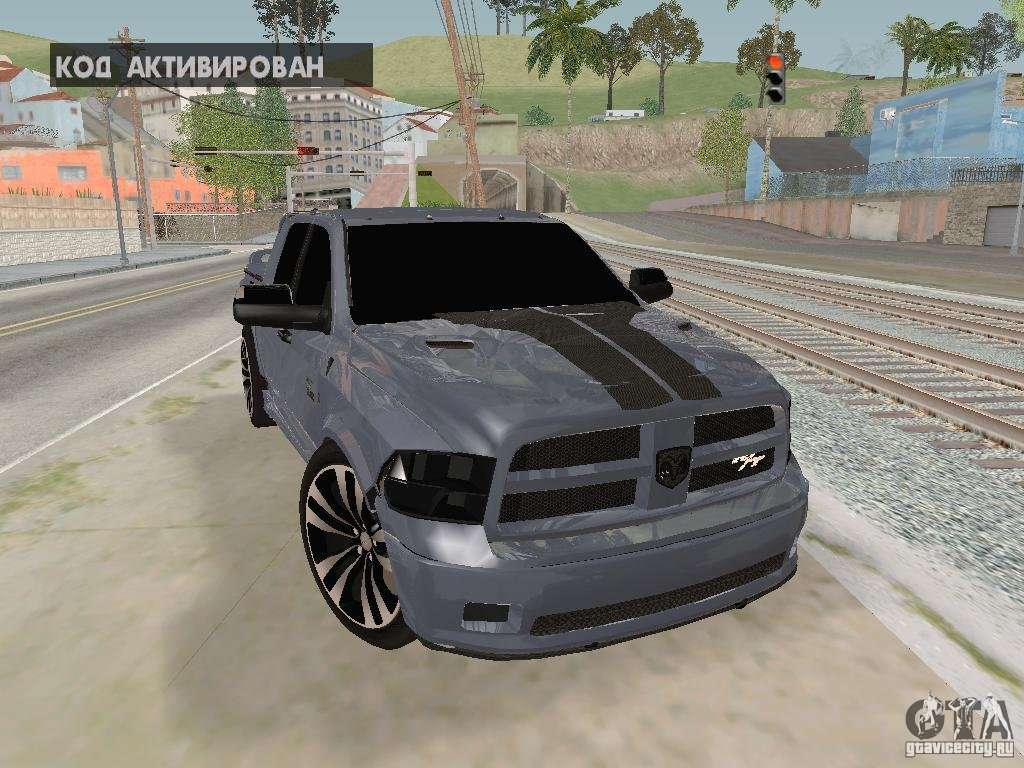 Dodge Ram R/T 2011 for GTA San Andreas