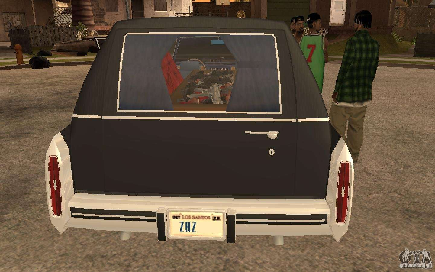 Rear Bumper Replacement >> Cadillac Fleetwood Hearse 1985 for GTA San Andreas