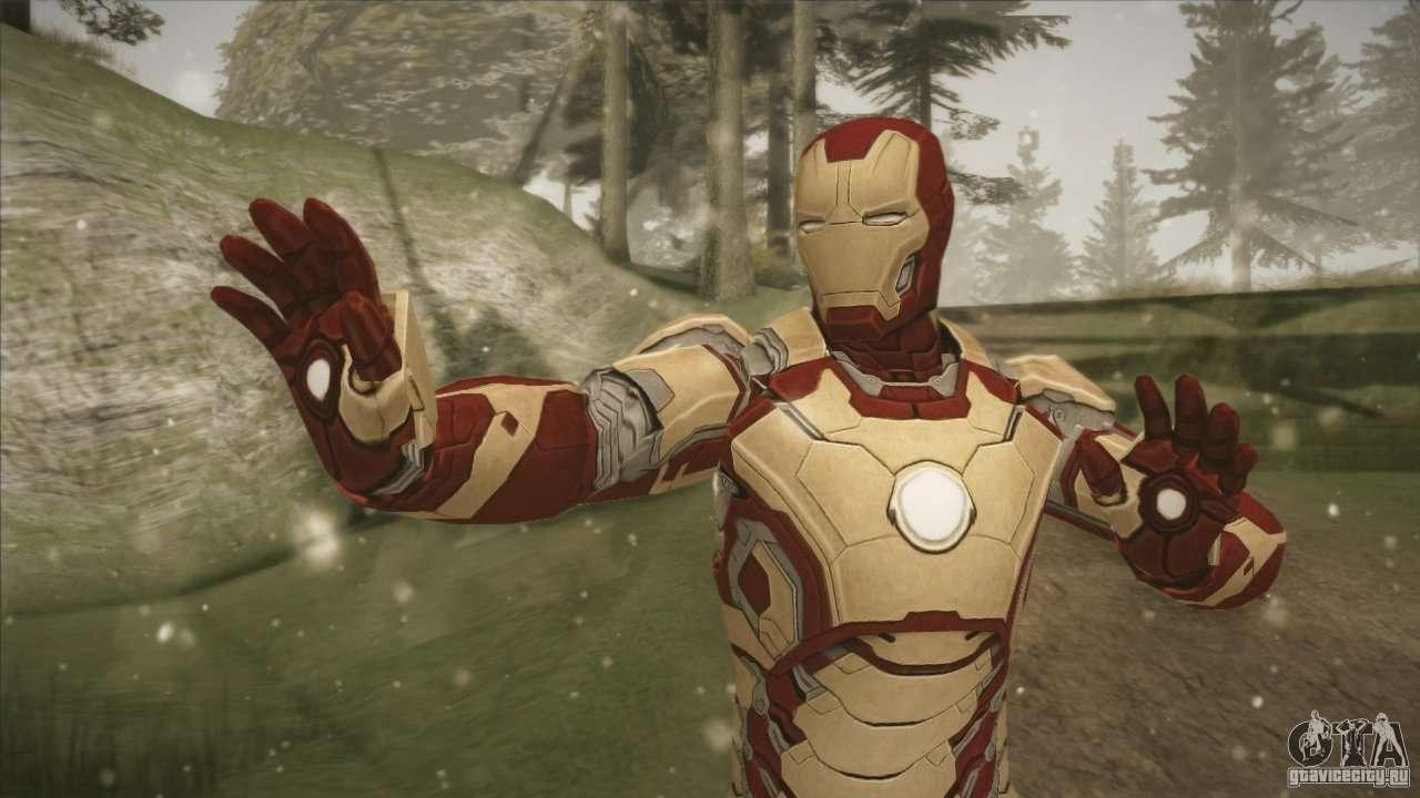 Iron man cheat on gta san andreas