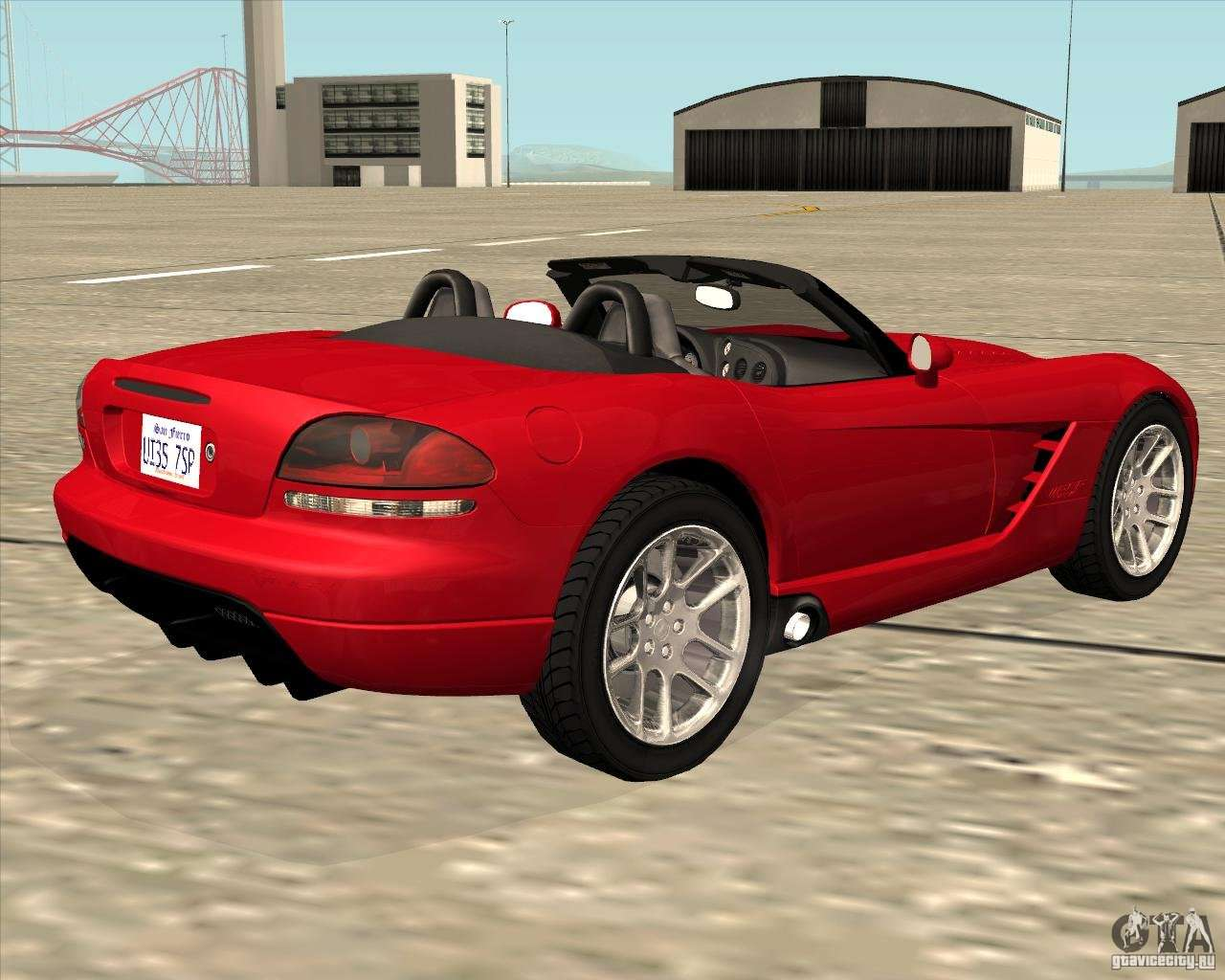 dodge viper srt 10 roadster for gta san andreas. Black Bedroom Furniture Sets. Home Design Ideas