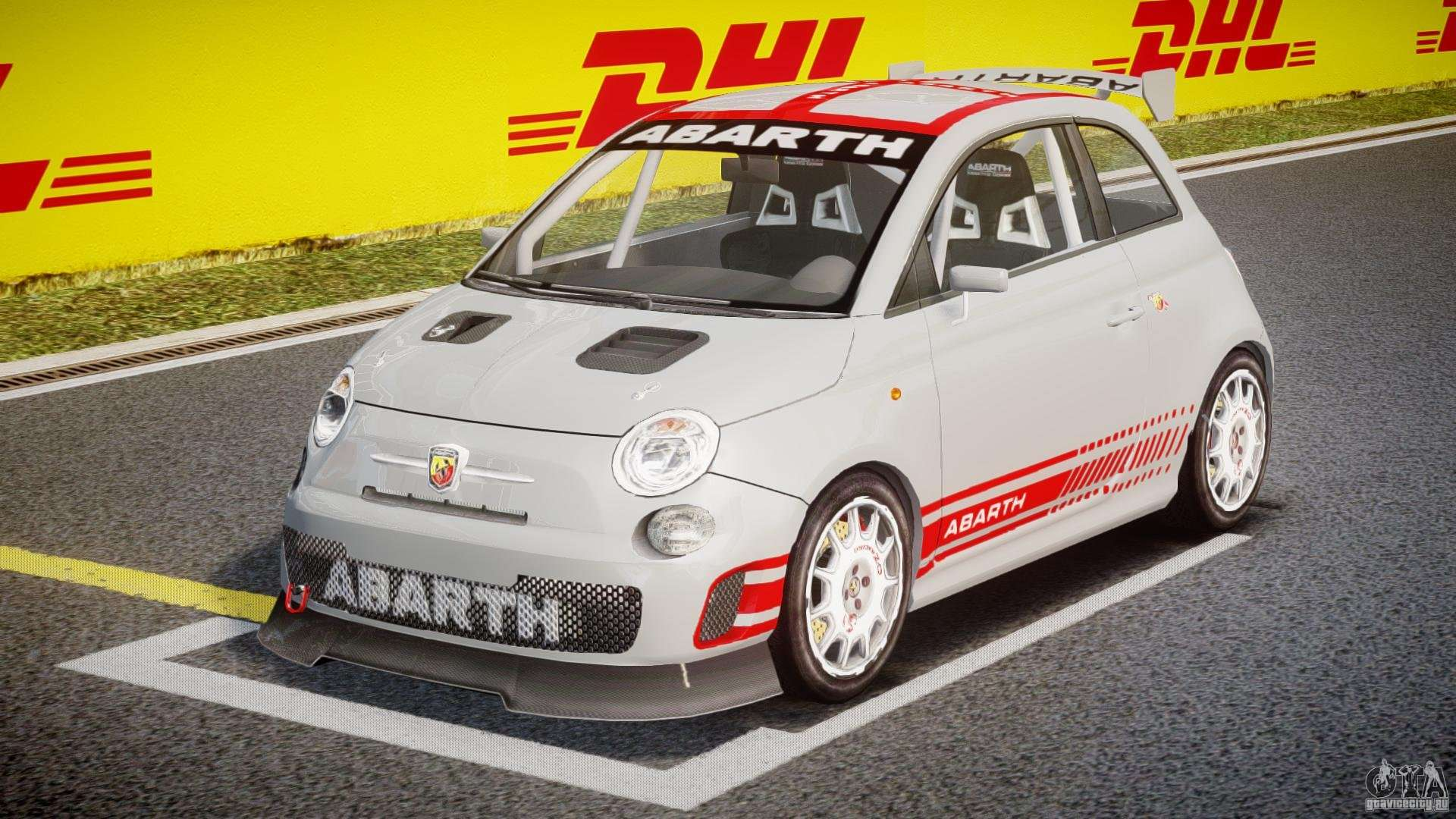fiat 500 abarth for gta 4. Black Bedroom Furniture Sets. Home Design Ideas