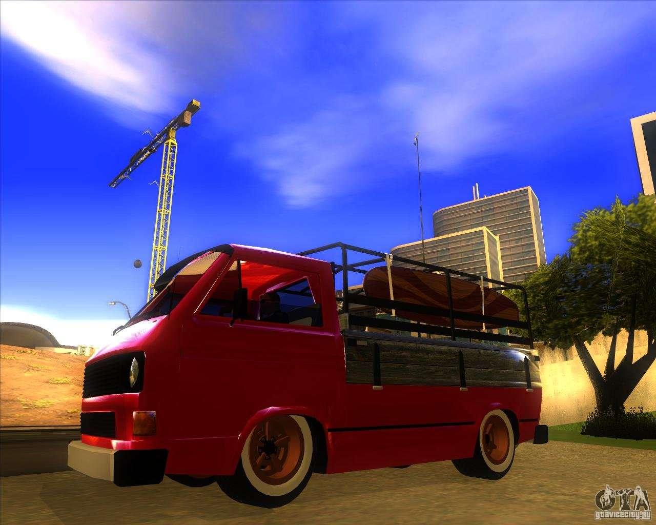 volkswagen transporter t3 pickup for gta san andreas. Black Bedroom Furniture Sets. Home Design Ideas