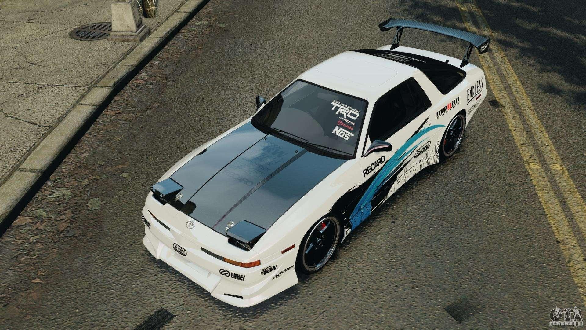 Toyota Supra Mk3 >> Toyota Supra 3.0 Turbo MK3 1992 v1.0 for GTA 4