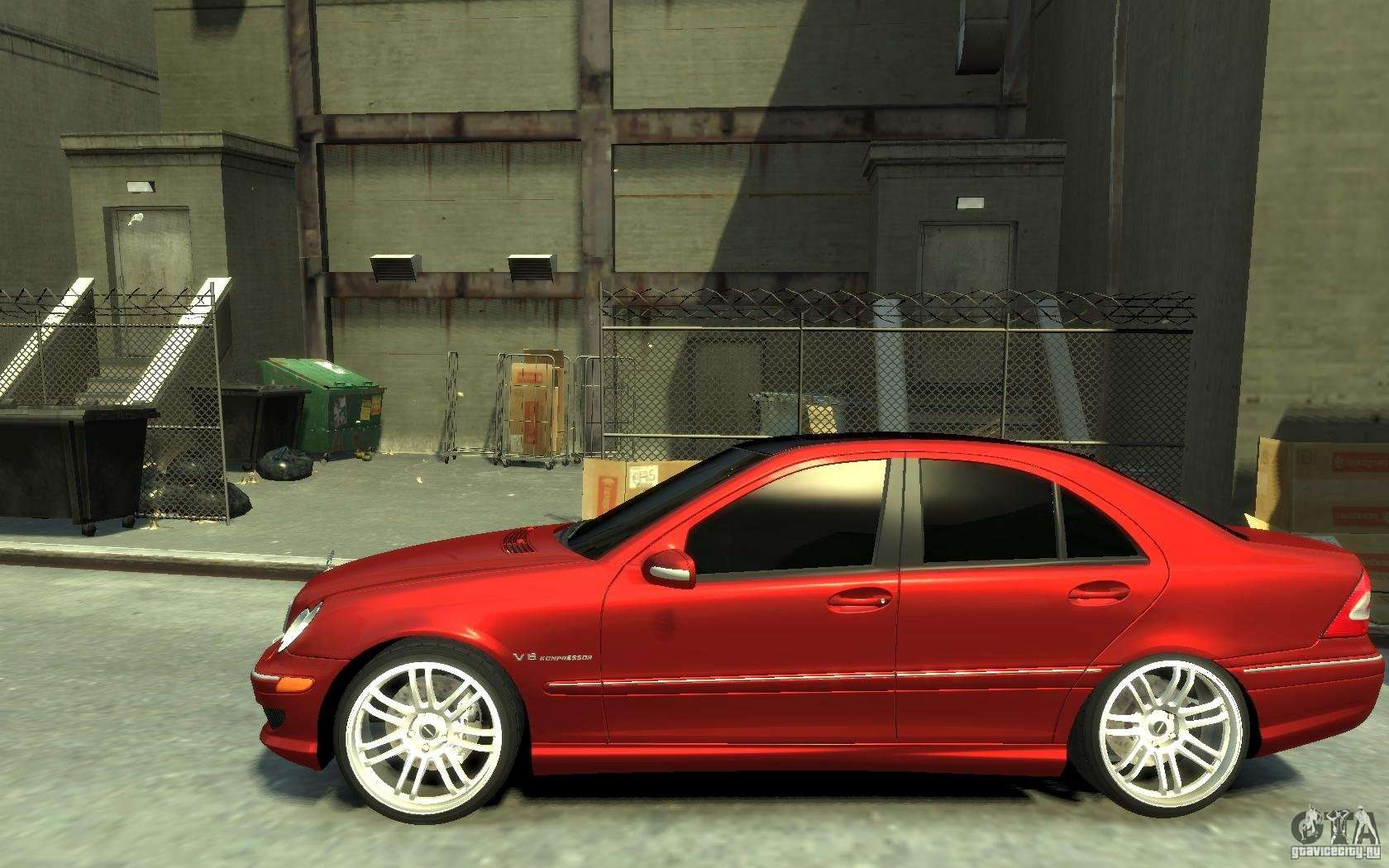 Mercedes Benz C32 Amg Light Tuning For Gta 4