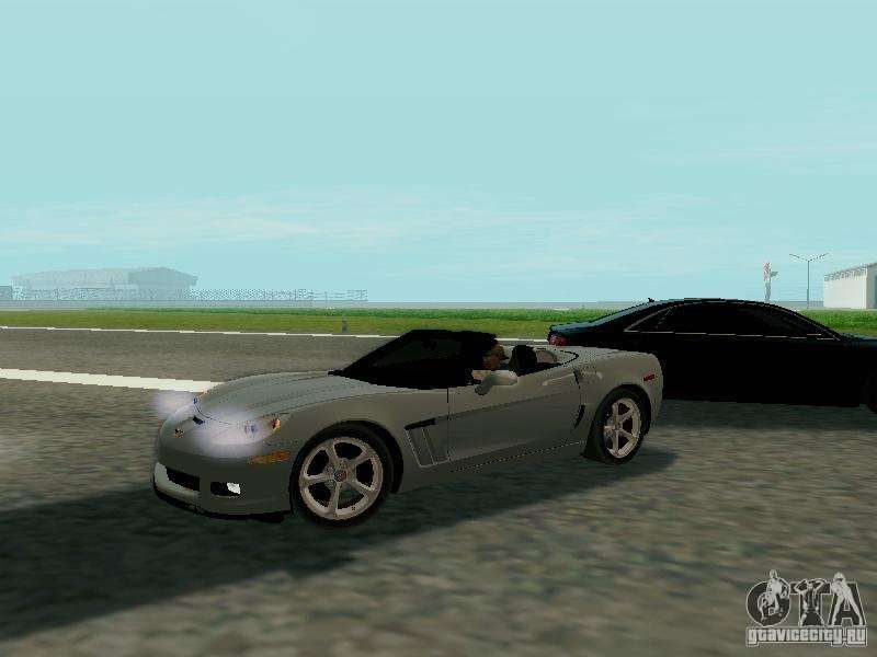 Chevrolet Corvette C6 Gs Convertible 2012 For Gta San Andreas