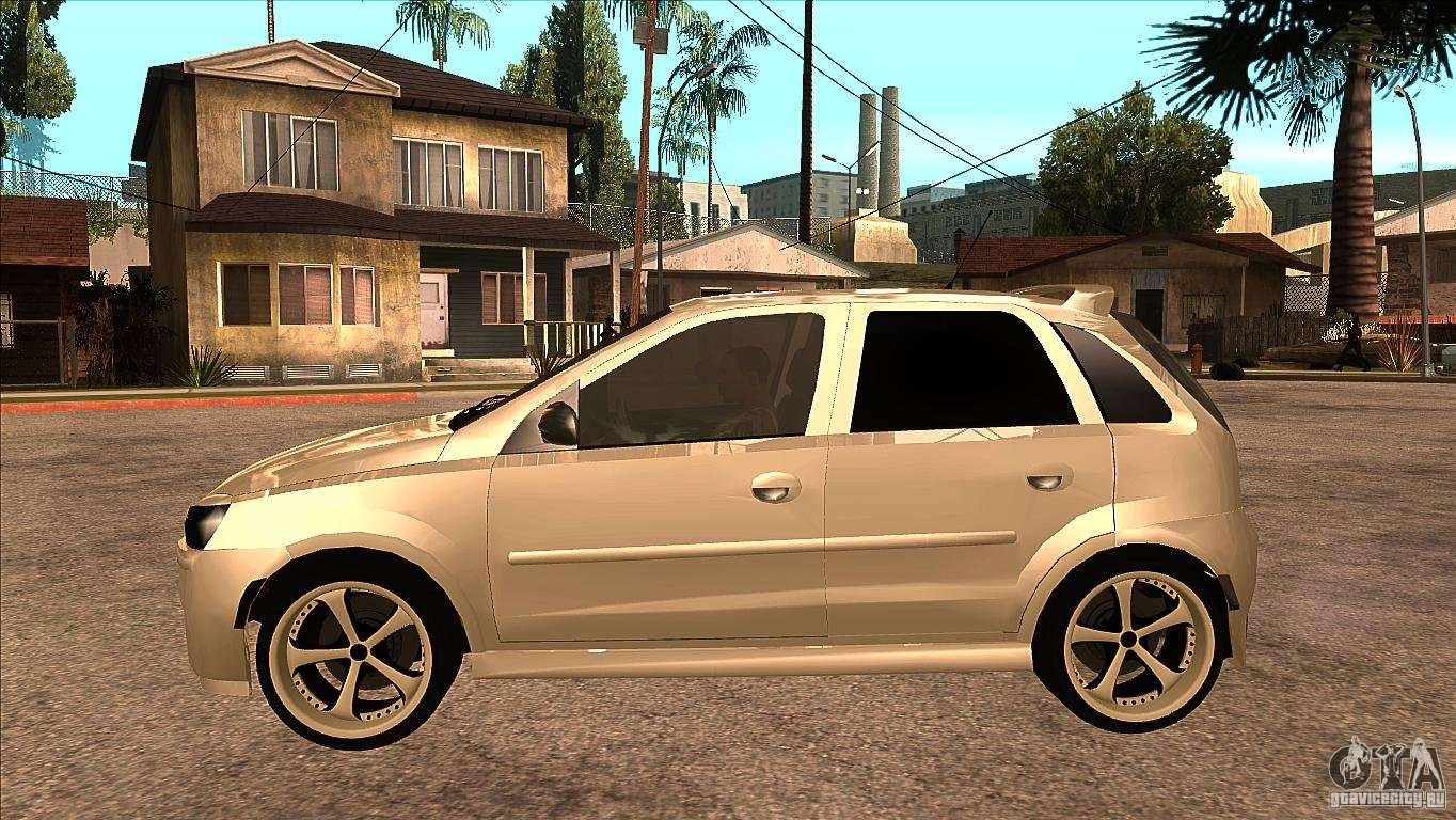 opel corsa tuning edition for gta san andreas. Black Bedroom Furniture Sets. Home Design Ideas