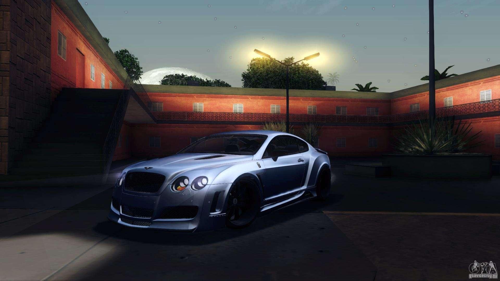 Bentley Continental GT Premier4509 2008 Final For GTA San Andreas · Cars