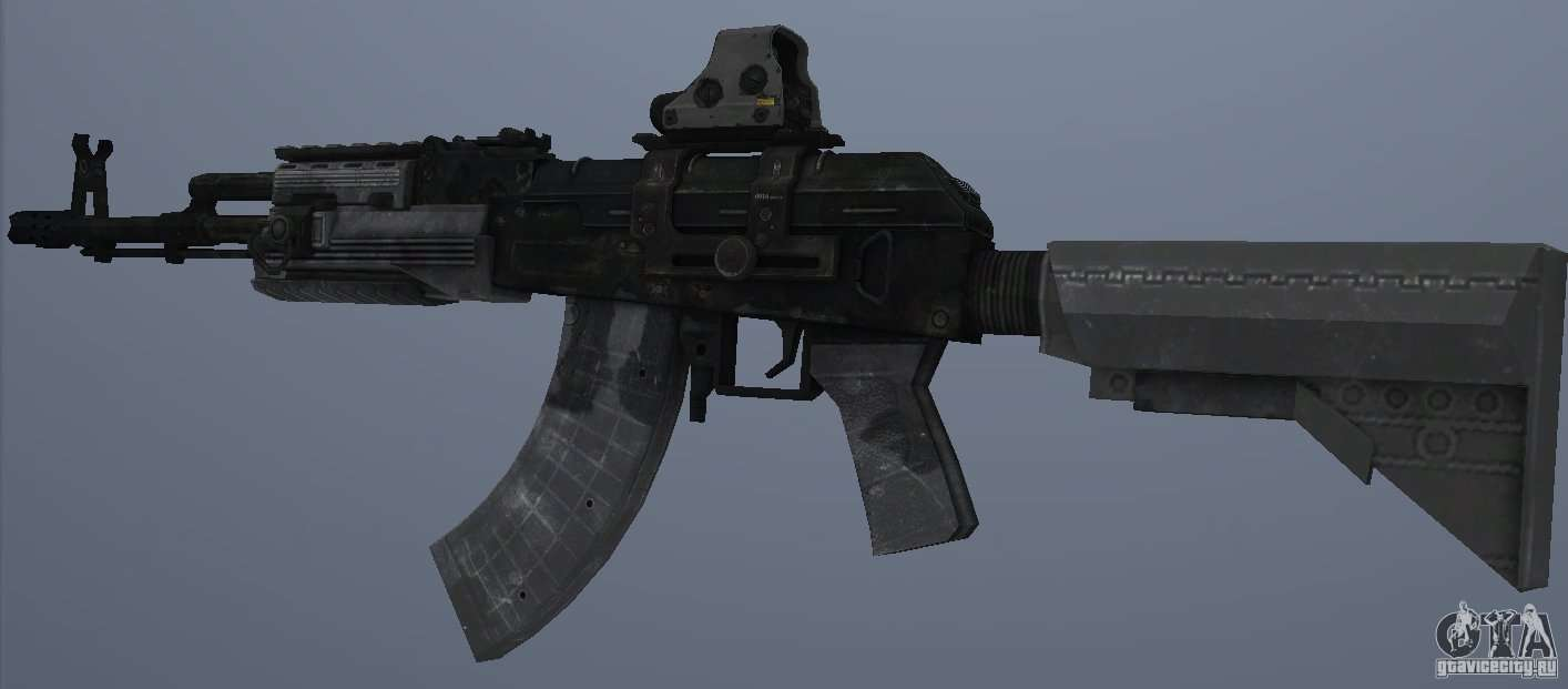 Ak47 Holographic Sight For Gta San Andreas