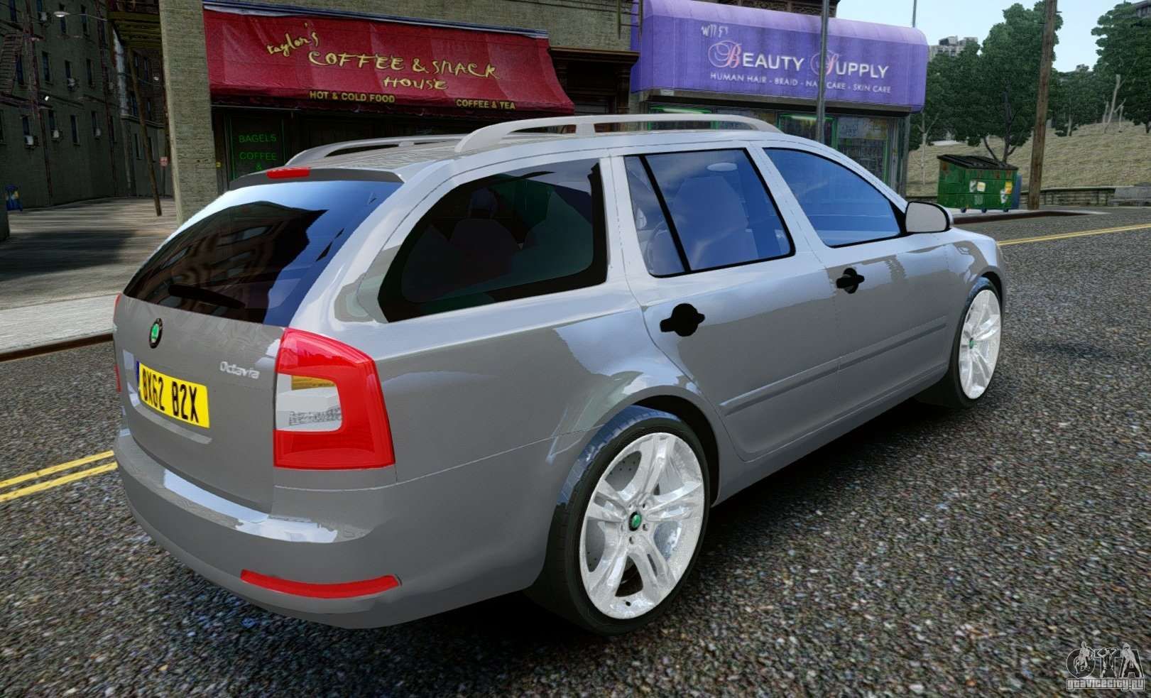 skoda octavia rs combi 2010 for gta 4. Black Bedroom Furniture Sets. Home Design Ideas
