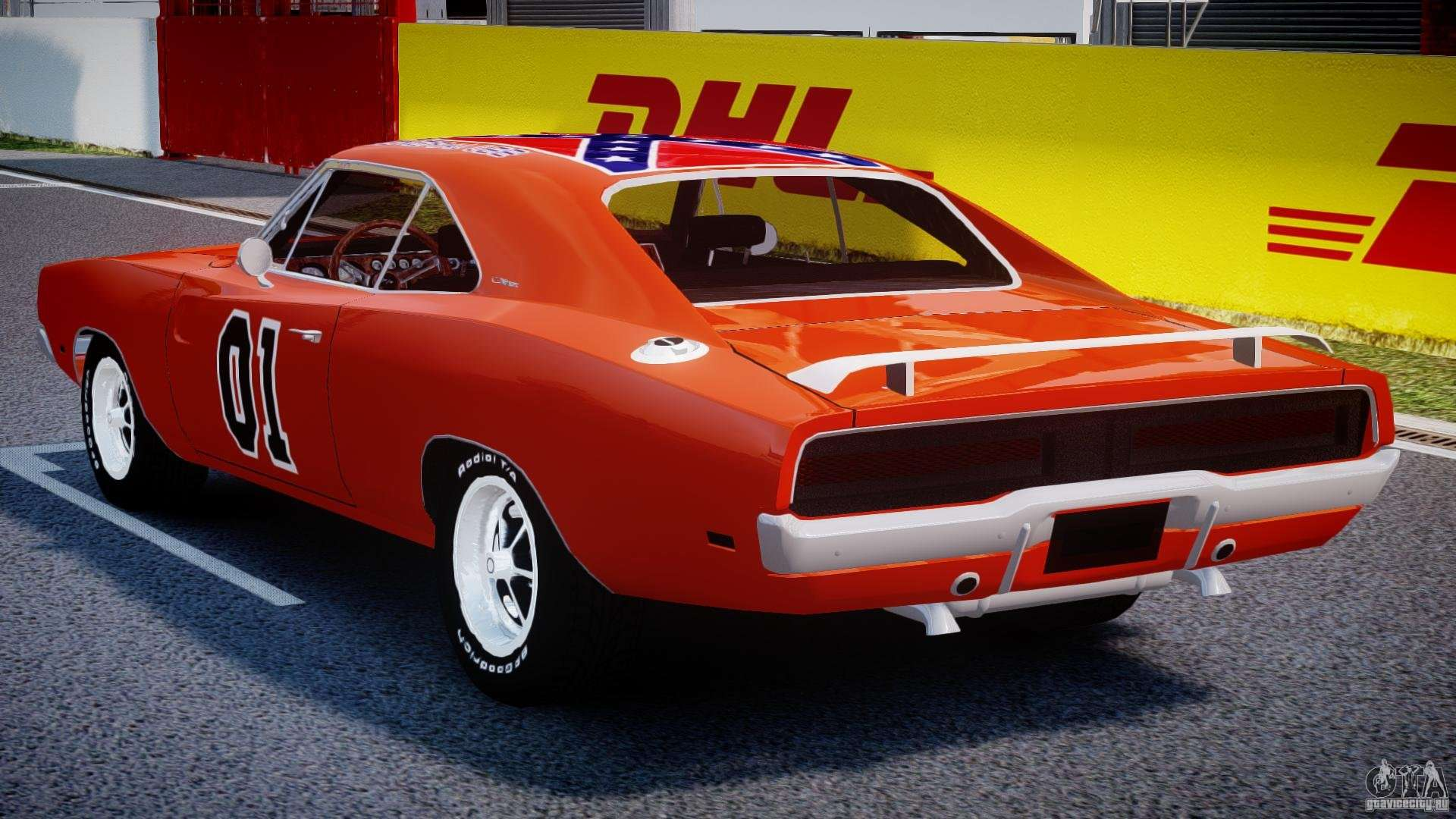 Dodge Charger General Lee 1969 For Gta 4