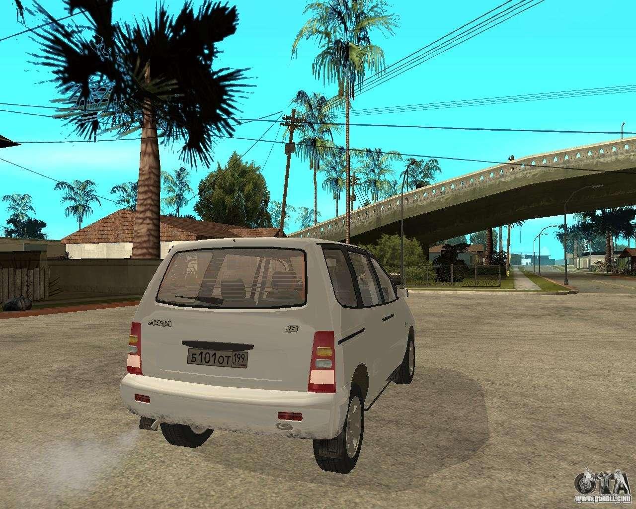 VAZ 2120 - the car is not for drift 63