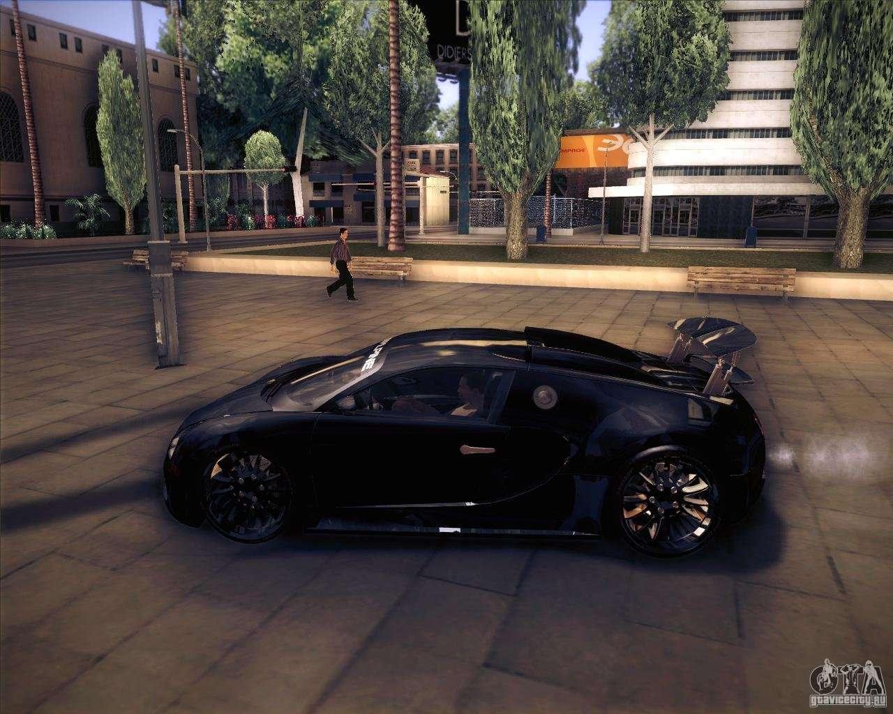 bugatti veyron super sport for gta san andreas. Black Bedroom Furniture Sets. Home Design Ideas