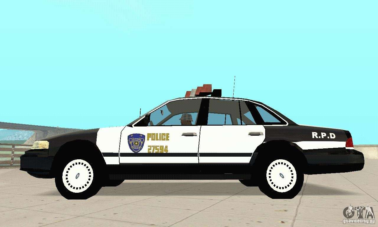 ford taurus 1992 police for gta san andreas. Black Bedroom Furniture Sets. Home Design Ideas