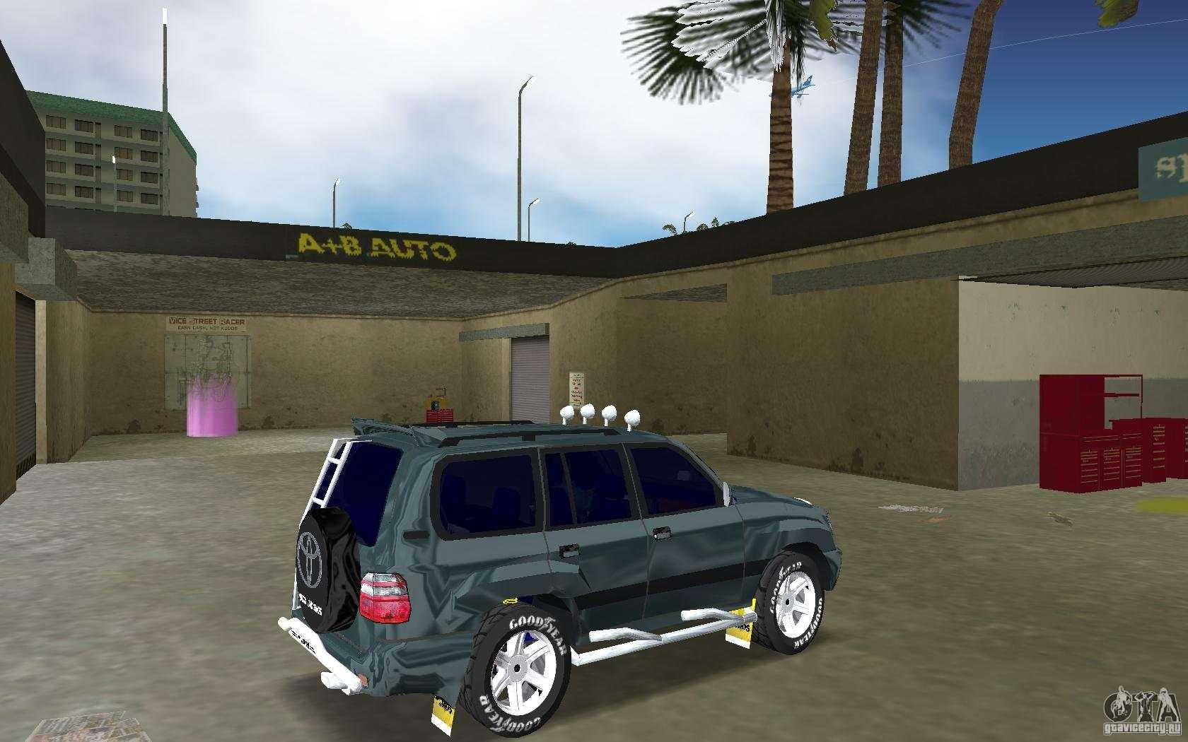 Toyota Land Cruiser 100 for GTA Vice City