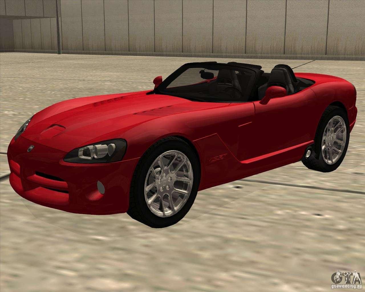 dodge viper srt 10 roadster for gta san andreas. Black Bedroom Furniture Sets. Home Design Ideas