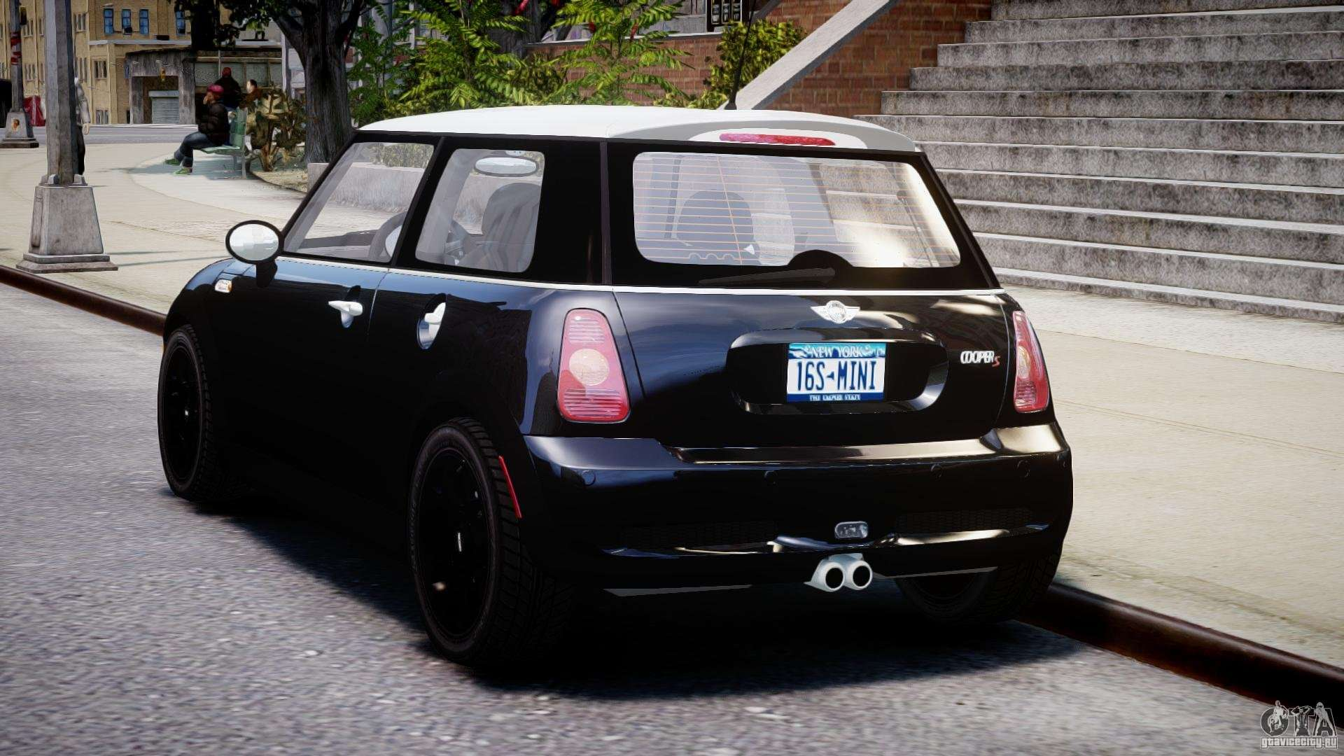 mini cooper s 2003 v1 2 for gta 4. Black Bedroom Furniture Sets. Home Design Ideas