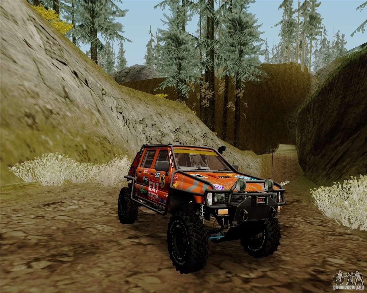 Nissan Frontier Off Road >> Nissan Navara Off-Road for GTA San Andreas