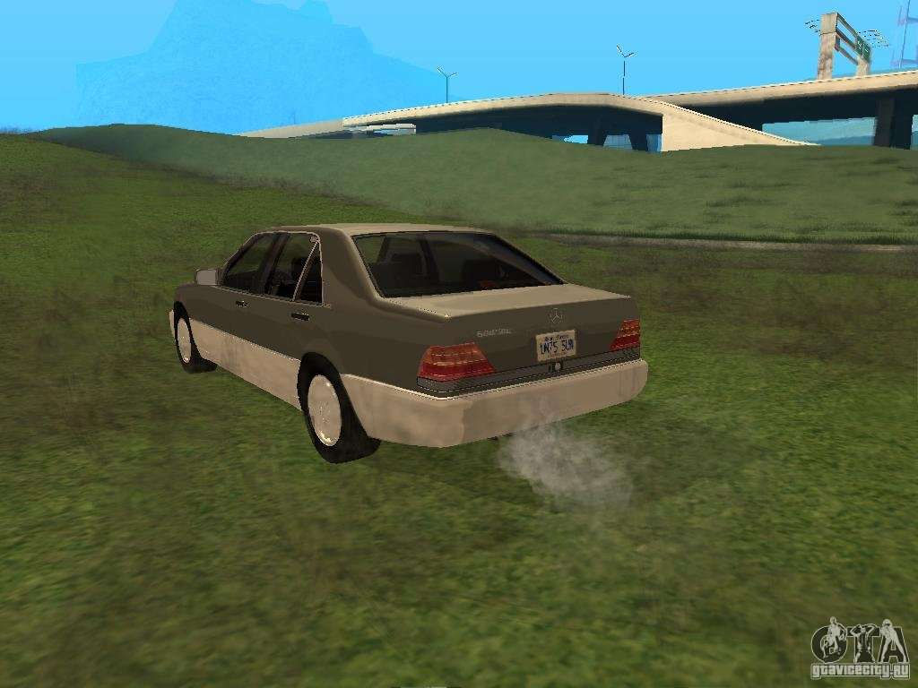 Mercedes benz 600sel w140 for gta san andreas for Car parts for mercedes benz