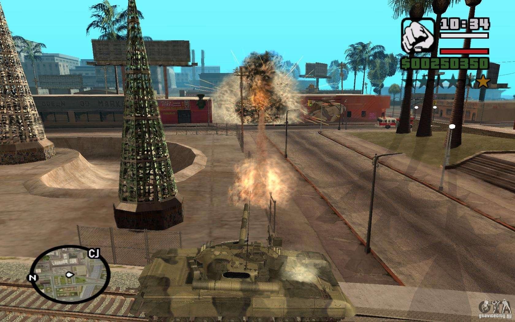Hydra Panzer Mod For Gta San Andreas
