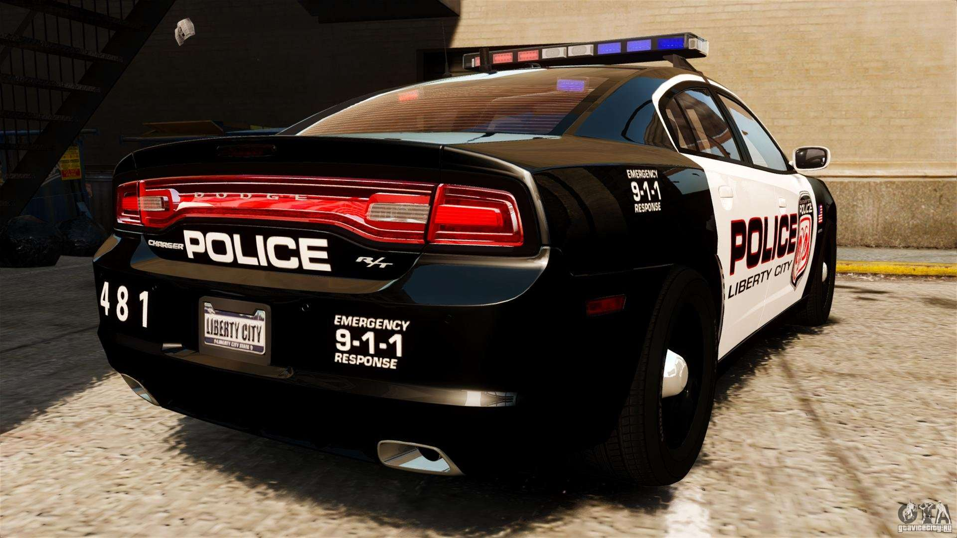 Dodge Charger Rt Max Police 2011 Els For Gta 4
