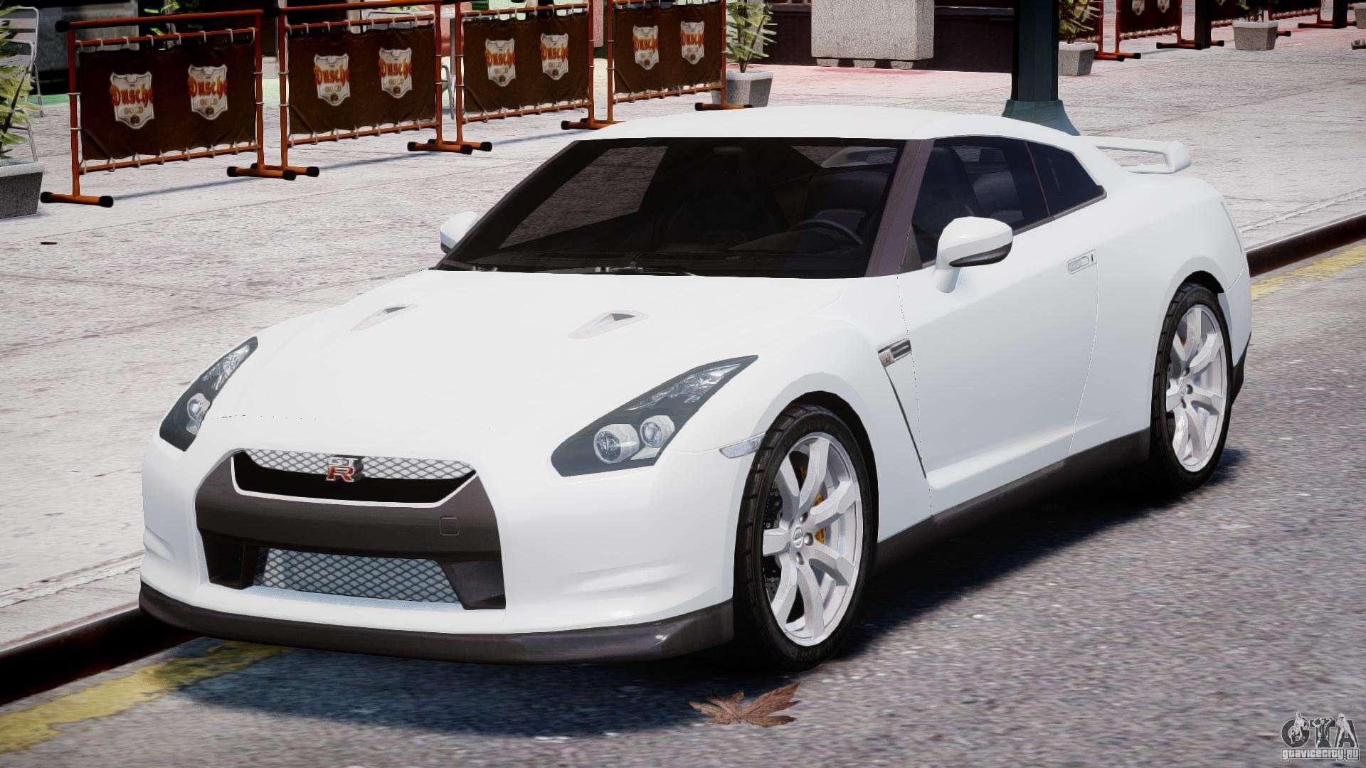 Nissan Skyline GT-R R35 for GTA 4